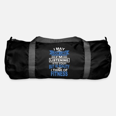 Funny Fitness Gym Gym Funny Gift - Duffel Bag
