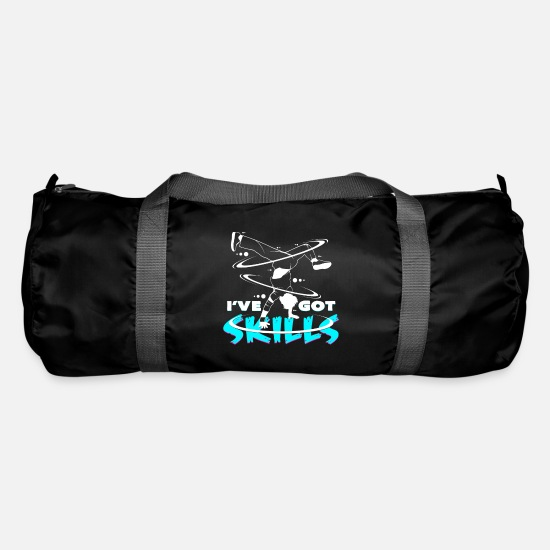 Break Dance Bags & Backpacks - Breakdancing windmill - Duffle Bag black