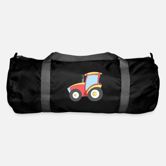 Truck Bags & Backpacks - Sporty tractor - Duffle Bag black