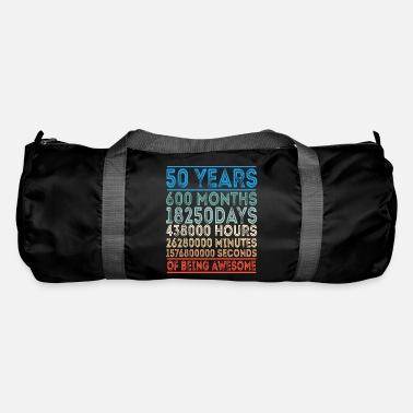 50 50's Birthday Gift Celebration Fifty Anniversary - Duffle Bag