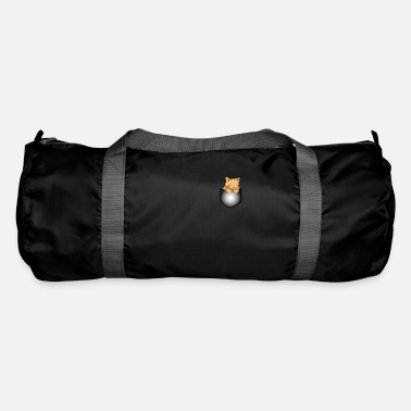 Pocket Pocket Cat Sweet Pocket - Duffle Bag