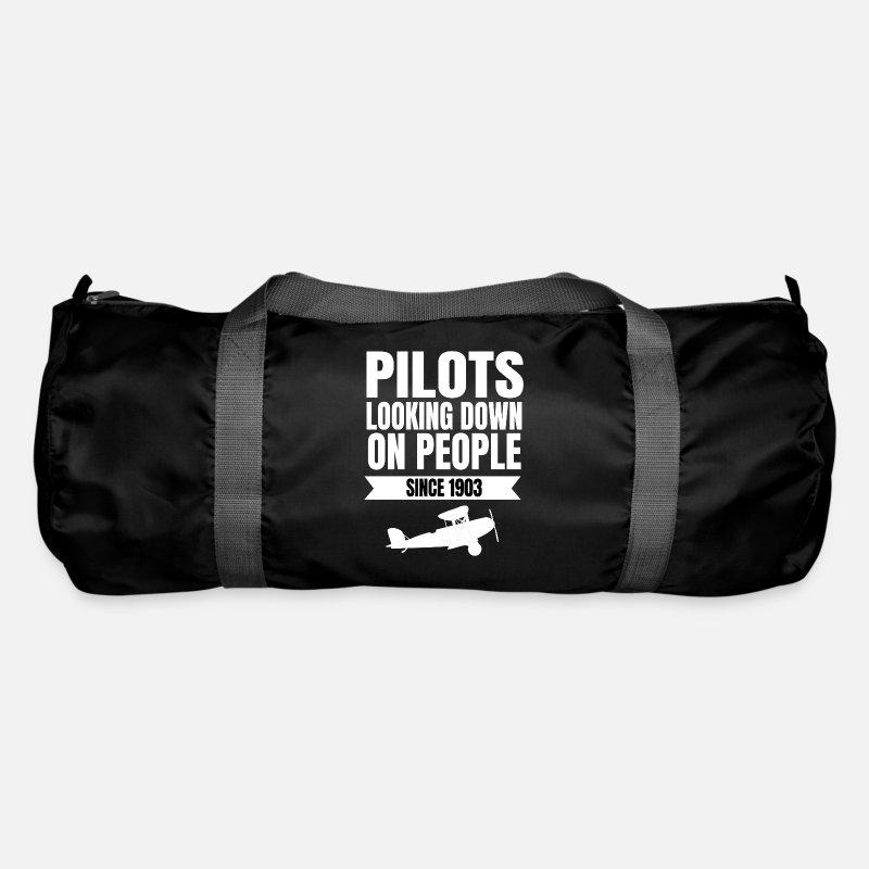 Pilot Captain Co Gift Idea Duffle Bag