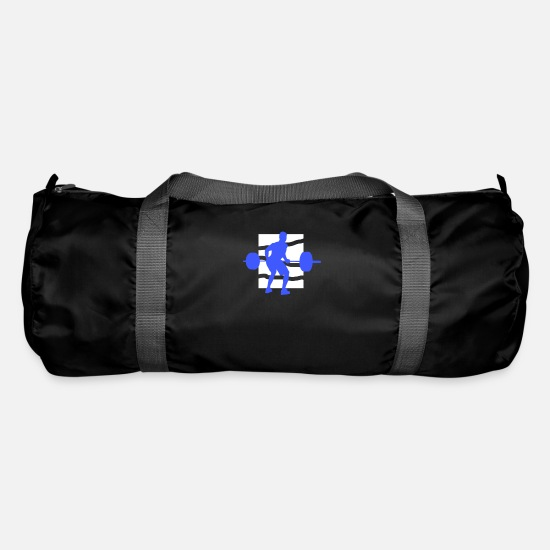 Gift Idea Bags & Backpacks - body builder - Duffle Bag black