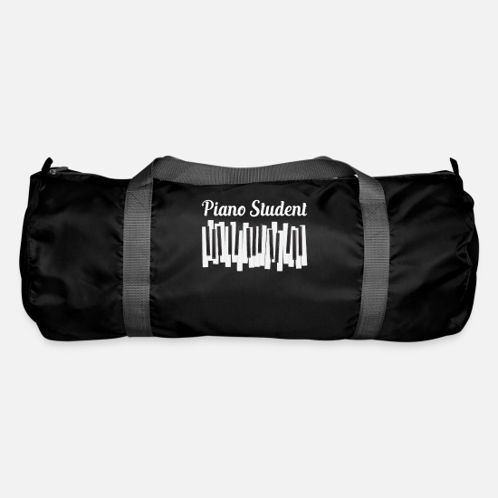Gift Idea Bags & Backpacks - Piano - student - piano - student - shirt - Duffle Bag black