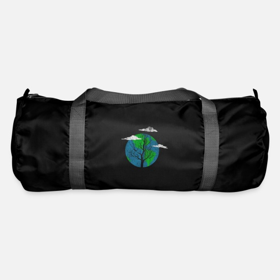 Gift Idea Bags & Backpacks - Earth Day - Earth Day - Duffle Bag black