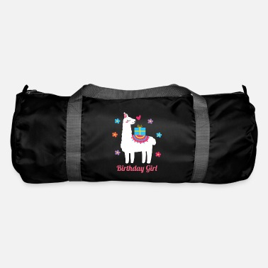 Morning Birthday Girl Lama Animal Lover Gift Idea - Duffle Bag