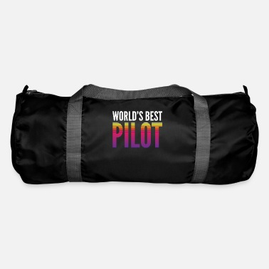 Traffic World's best pilot - Duffle Bag
