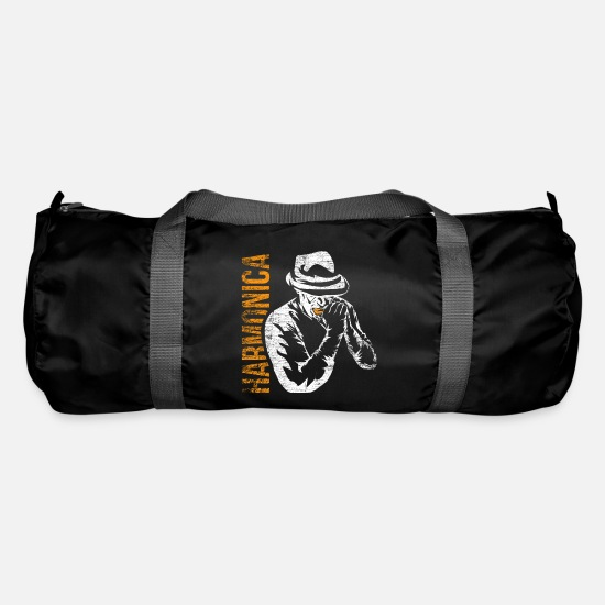 Music Bags & Backpacks - harmonica - Duffle Bag black