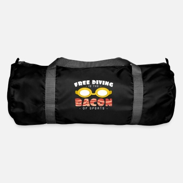 Water Sports Freediving as a bacon of freediving sport hobby - Duffle Bag