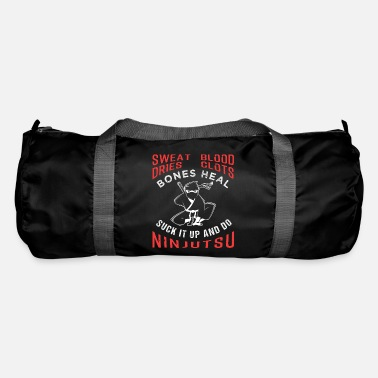 Ninjutsu Suck It Up And Ninjutsu Ninjutsu Fan Gift - Duffle Bag