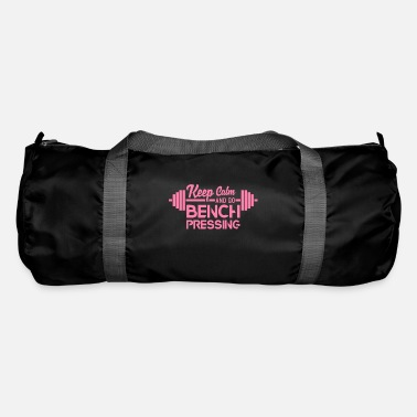 Bench Press Bench Pressing Bench Press Mum Fitness Bench Press - Duffle Bag