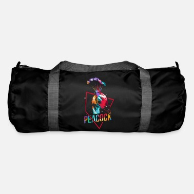 Claw Peacock polygon - Duffle Bag