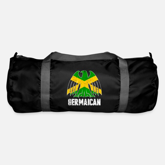 Rasta Bags & Backpacks - Jamaica Germany - Duffle Bag black