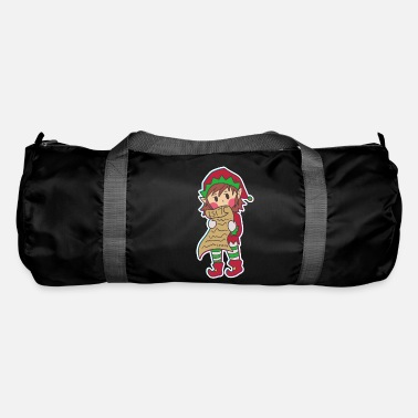 Hobbyists Christmas Elves North Pole Help Children Gift - Duffle Bag