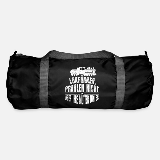 Train Driver Bags & Backpacks - Train ICE - Duffle Bag black