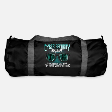 Computer Cyber Security Hackers Hack IT Security Funny - Duffle Bag