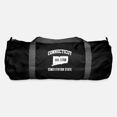 State Connecticut State Line The Constitution State - Duffle Bag