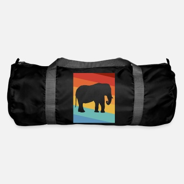 Tusk Elephant tusked animal - Duffle Bag