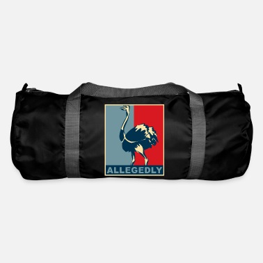 Flightless Bird Allegedly Ostrich bird flightless - Duffle Bag
