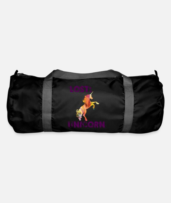 Dream Bags & Backpacks - Unicorn - Lost Unicorn - Duffle Bag black
