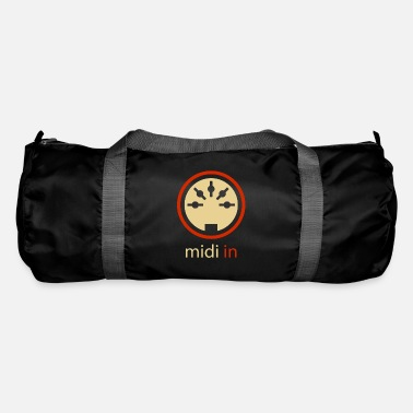Midi In 5-pin DIN Audio Synthesizer Vintage Stereo - Duffle Bag