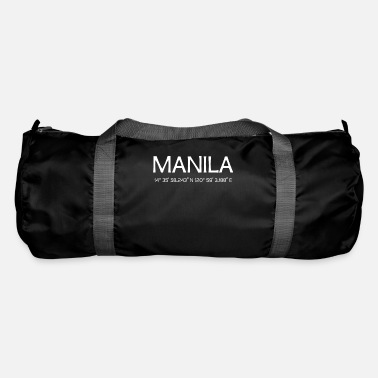 Cool Sayings Manila Philippines Philippines Filipino gift - Duffle Bag