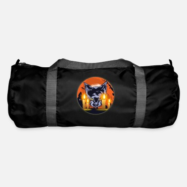 Witching Hour Mens Witching Hour Graphic Cat - Duffle Bag