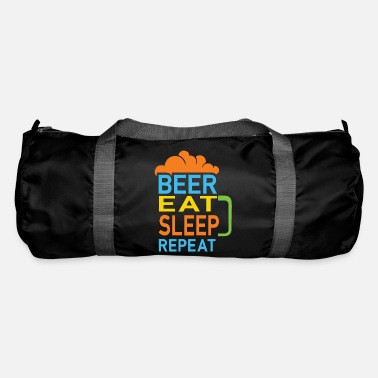 Beer Eat Sleep Repeat Beer Design - Duffle Bag