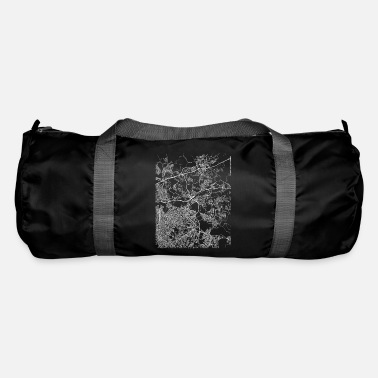 Love Was Not Minimal Itaquaquecetuba city map and streets - Duffle Bag