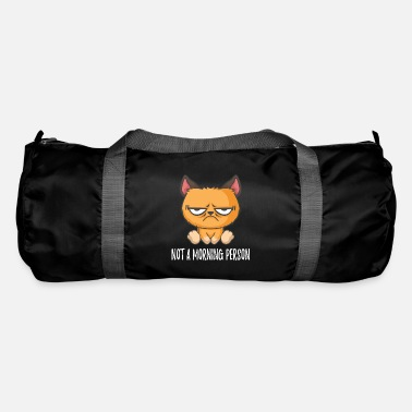 Grumpy In The Morning No Morning Man Grumpy Cat Morning Grouch - Duffle Bag