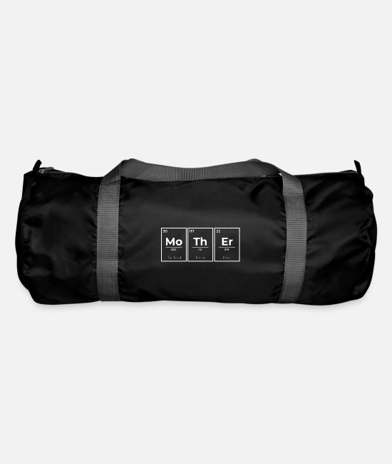 Periodic Table Bags & Backpacks - Mother Periodic Table - Duffle Bag black