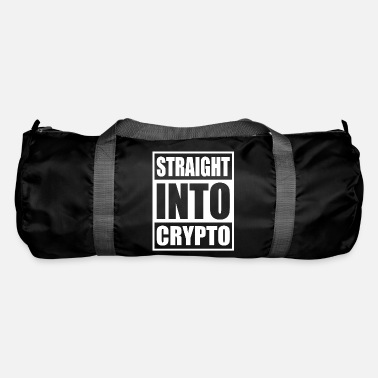 Rest Bitcoin Hodler Straight Into Crypto Currency - Duffle Bag