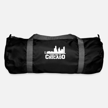 State Capital Take Me To Chicago Gift Trip Vacation - Duffle Bag