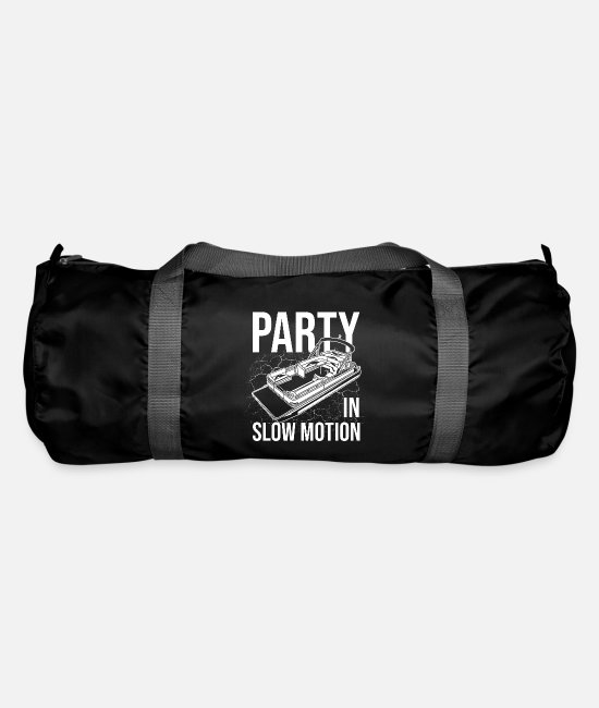 Boating Bags & Backpacks - Party in slow motion - Duffle Bag black