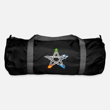 Witchcraft Wicca Pagan Five Elements Magical Pentagram - Duffle Bag
