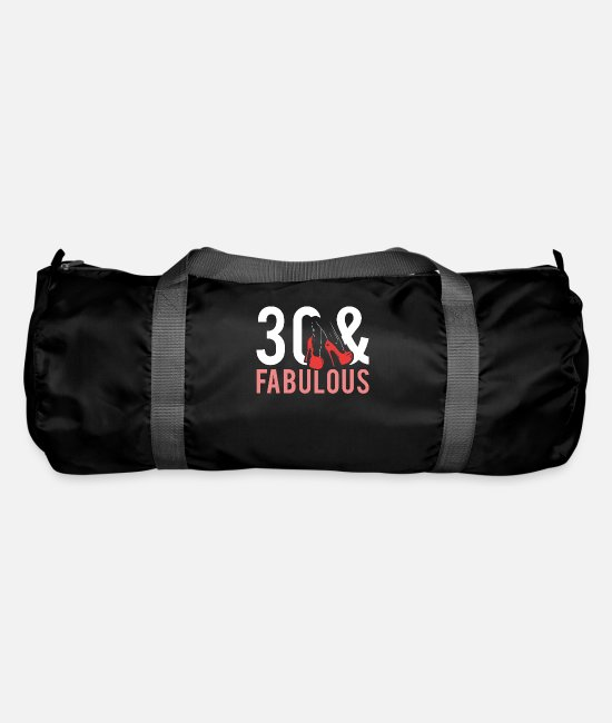 Birthday Bags & Backpacks - 30th birthday - Duffle Bag black