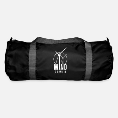 Wind Wind turbine wind energy wind turbine wind power wind - Duffle Bag