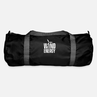Wind Wind turbine wind energy wind power wind wheel wind - Duffle Bag