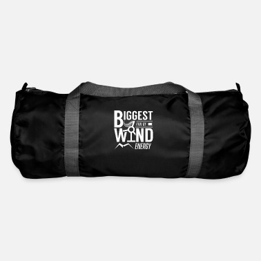 Wind Wind turbine wind energy wind wheel wind wind power - Duffle Bag