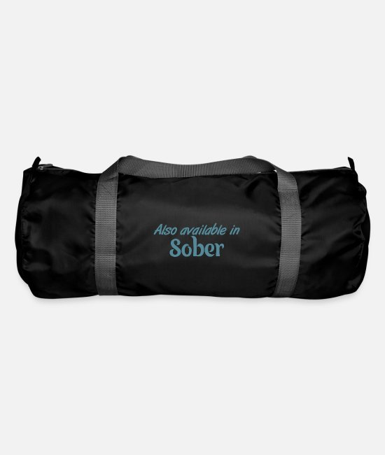 Wife Bags & Backpacks - Also Available In Sober - Duffle Bag black