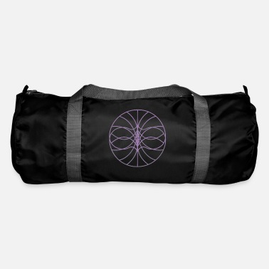 Arte Grafica Circle pattern art - Borsa sportiva