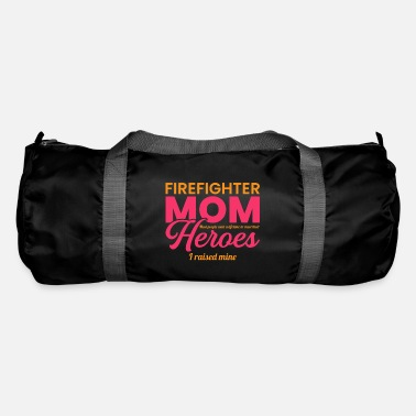 Occupation Proud Firefighter Mother Fire Brigade - Duffle Bag