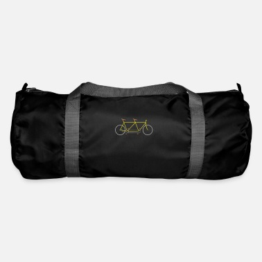 Wheel Bicycle mountain bike road bike MTB gift idea - Duffle Bag