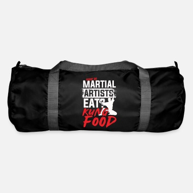 Asian What do martial artists eat Kung food - Duffle Bag