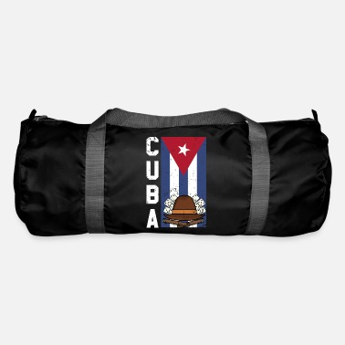 Cuba Cuba Cigars Fedoras and Dominos Gift Design Idea - Duffle Bag