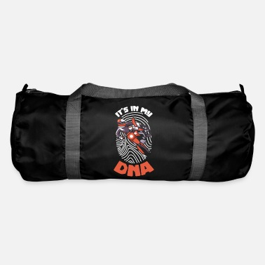 Motor Race Dirtbike Dirtbiking - Its in my DNA - Duffle Bag