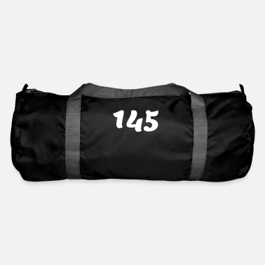 Age One Hundred Forty Five 145, 145, nombre, 145, cent - Duffle Bag