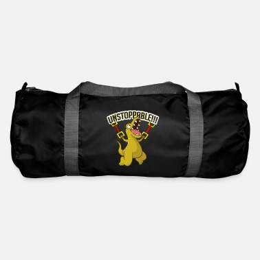 Motion Unstoppable T-Rex dinosaurs lover gift - Duffle Bag