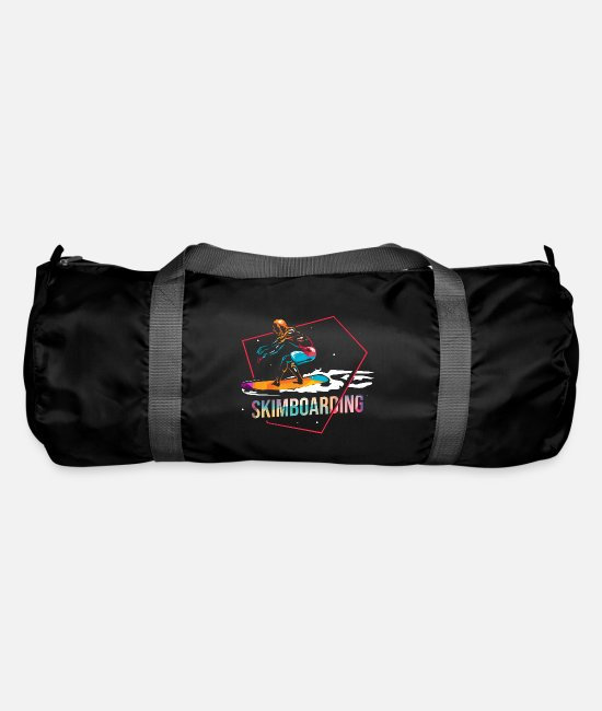 Wave Bags & Backpacks - Skimboarding boardsport - Duffle Bag black
