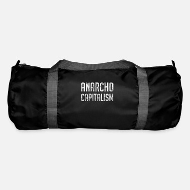 Market Anarchist Anarcho Capitalism Libertarian Anarchist - Duffle Bag